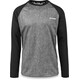 Dakine Dropout L/S Jersey Men Carbon/Black